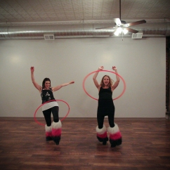 Hula Hoopers at Return Yoga