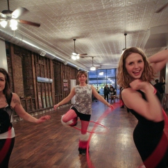 Return Yoga Hula Hoopers St. Cloud Art Crawl