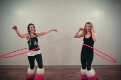 Twistin Vixens Hooping Return Yoga Art Crawl