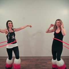 Twistin Vixens Hooping Return Yoga Art Crawl