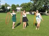 Hoop Jam at Lake George with Amy Imdieke, Colleen Hurley and Kayla Helm