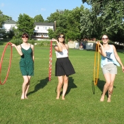 Hoop Jam at Lake George with Amy Imdieke, Colleen Hurley and Kayla Helm