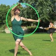 Amy vertical hooping