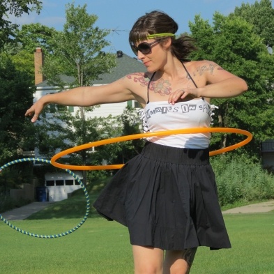 Colleen Hurley Waist hooping