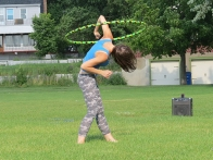 horizontal elbow hooping