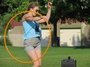Kayla Helm, Hoop Dancing in the summer