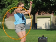 Kayla Helm, Hoop Dancing in the summer
