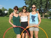 Twistin Vixens Amy Imdieke, Colleen Hurley and Kayla Helm