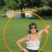 Colleen Hurley Hoop Dance isolation