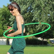 Amy Imdieke Hoop Dancer