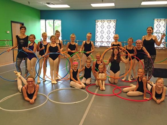 Twistin Vixens Hoop Dance Class at Jamm Dance Co.