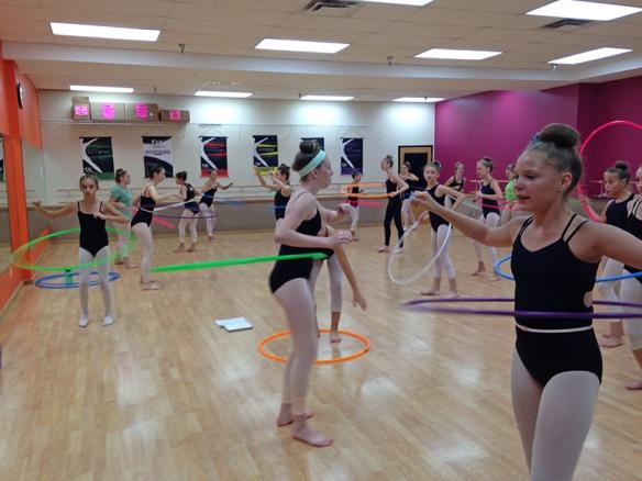 Ballerina's Hoop Dancing