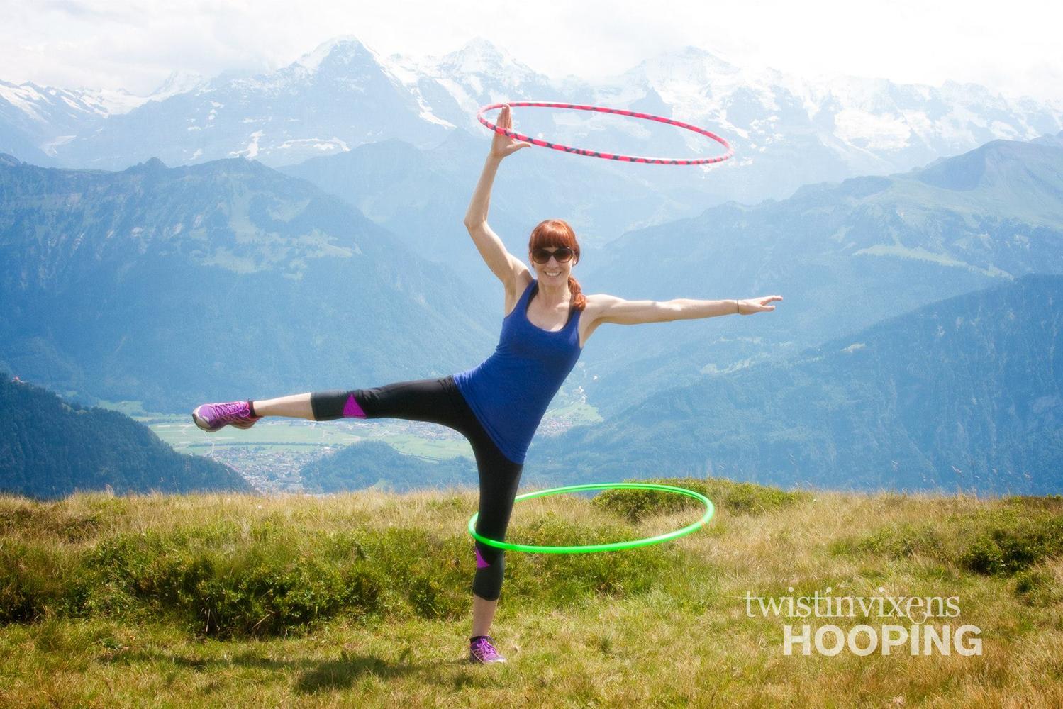Hoop Dancing in the Summertime