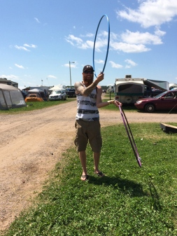 Rockfest 2015 Double Hoops