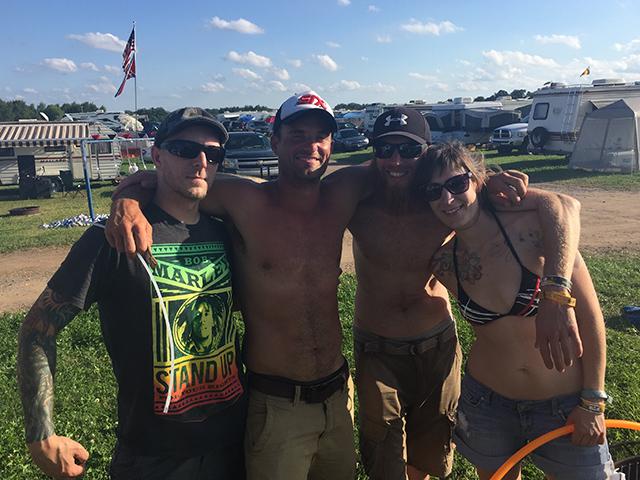 Rockfest 2015 Hula Hooper