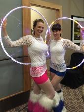 Kayla and Amy at Hazeltine National Golf Club