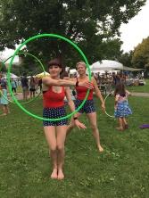 Loring Park Art Festival Hula Hoopers 2015