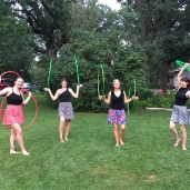 Twistin Vixens Hula Hoopers