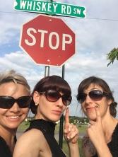 Twistin Vixens-Whiskey Rd-Stop Sign