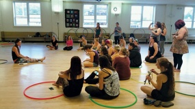 Babz Robinson Hoop Workshop
