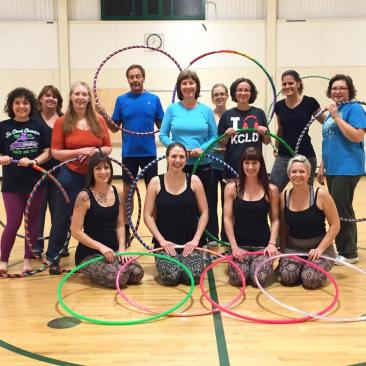 Community Ed Hooping Class 2015