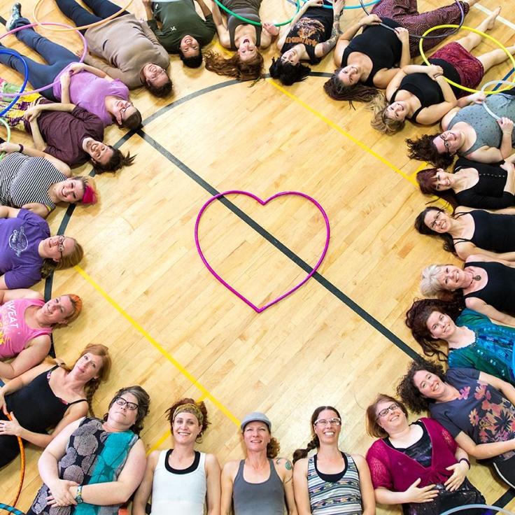 Romancing The Hoop Workshop7