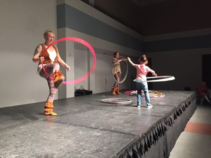 Woodstock Themed Hoop Dance Performance