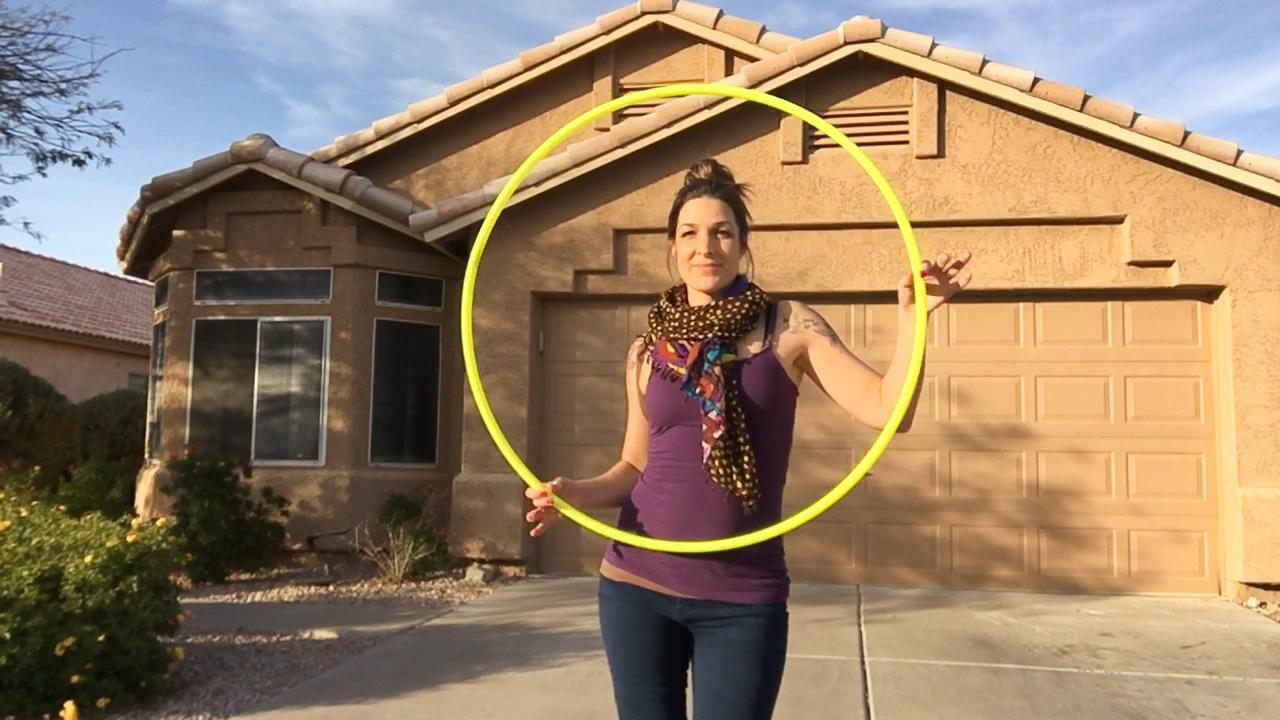 Hula Hooping in Scottsdale AZ