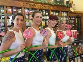 Twistin Vixens at the Candy Shop