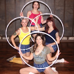 Hoop Troupe Family Photo