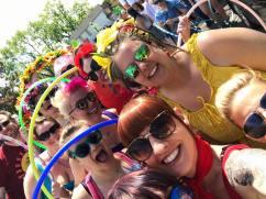 The Rainbow Hoop Crew