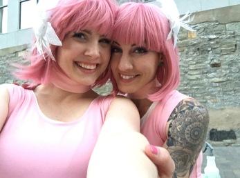 Kayla and Amy